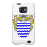 Escudo de armas de Vargas/escudo de la familia Samsung Galaxy S2 Funda