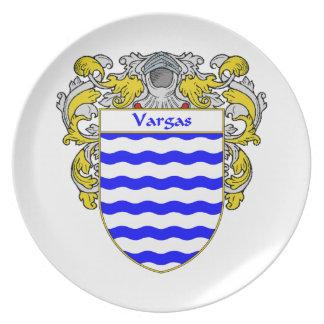 Escudo de armas de Vargas/escudo de la familia Plato
