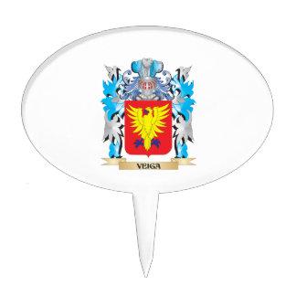 Escudo de armas de Veiga - escudo de la familia Decoración Para Tarta