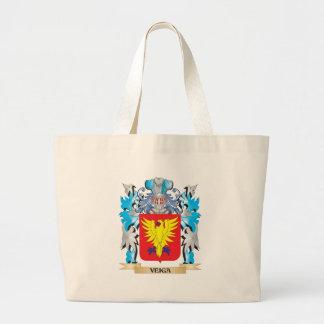 Escudo de armas de Veiga - escudo de la familia Bolsa Lienzo