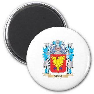 Escudo de armas de Veiga - escudo de la familia Iman De Frigorífico