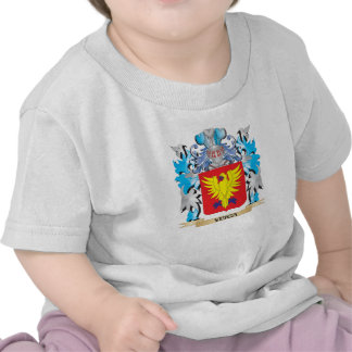 Escudo de armas de Veiga - escudo de la familia Camisetas