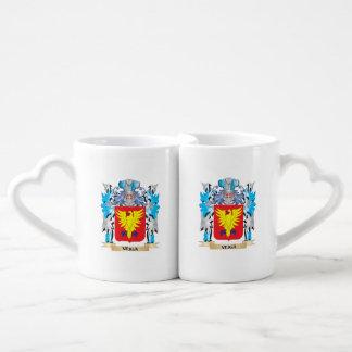 Escudo de armas de Veiga - escudo de la familia Tazas Amorosas