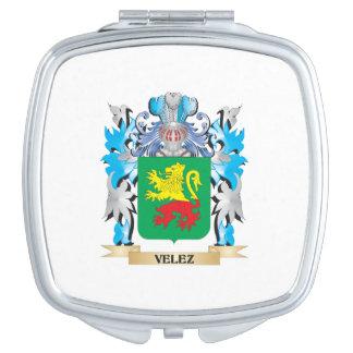 Escudo de armas de Velez - escudo de la familia Espejos Para El Bolso