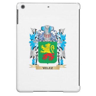 Escudo de armas de Velez - escudo de la familia Funda Para iPad Air