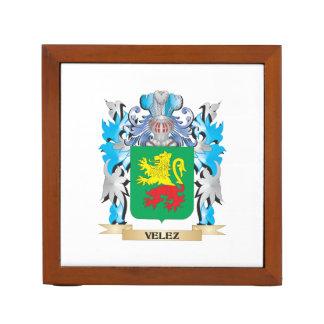 Escudo de armas de Velez - escudo de la familia