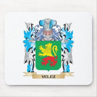 Escudo de armas de Velez - escudo de la familia Tapete De Raton