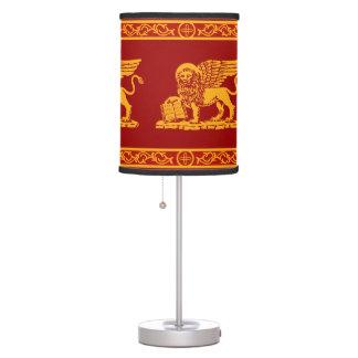 Escudo de armas de Venecia Lámpara De Escritorio