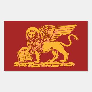 Escudo de armas de Venecia Rectangular Altavoz