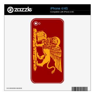 Escudo de armas de Venecia Skins Para eliPhone 4