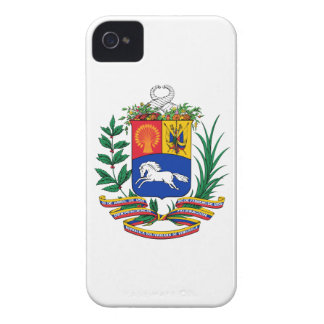 Escudo de armas de Venezuela iPhone 4 Case-Mate Cobertura
