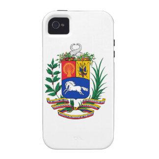 Escudo de armas de Venezuela iPhone 4/4S Fundas