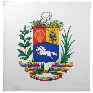 Escudo de armas de Venezuela Servilletas De Papel