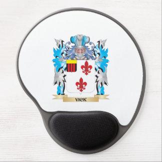 Escudo de armas de Vick - escudo de la familia Alfombrilla Gel