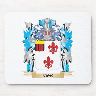 Escudo de armas de Vick - escudo de la familia Alfombrilla De Ratón