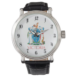 Escudo de armas de Victoria Relojes De Mano