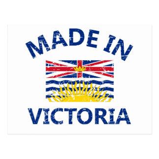 escudo de armas de Victoria Tarjeta Postal