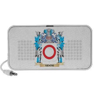 Escudo de armas de Vidoni - escudo de la familia iPod Altavoz
