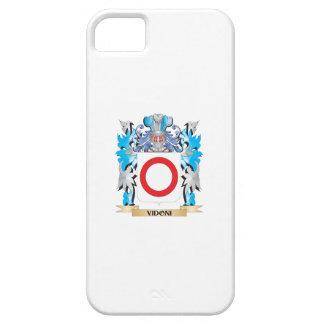 Escudo de armas de Vidoni - escudo de la familia iPhone 5 Case-Mate Cárcasa
