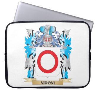 Escudo de armas de Vidoni - escudo de la familia Funda Portátil