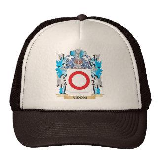 Escudo de armas de Vidoni - escudo de la familia Gorros