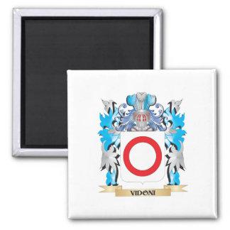 Escudo de armas de Vidoni - escudo de la familia Imanes