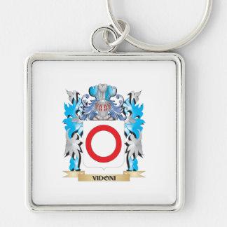 Escudo de armas de Vidoni - escudo de la familia Llavero Personalizado