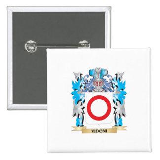 Escudo de armas de Vidoni - escudo de la familia Pin