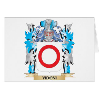 Escudo de armas de Vidoni - escudo de la familia