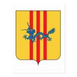 Escudo de armas de Vietnam del sur Postales