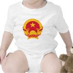 Escudo de armas de Vietnam Traje De Bebé