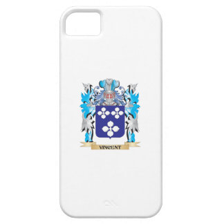 Escudo de armas de Vincent - escudo de la familia iPhone 5 Protectores