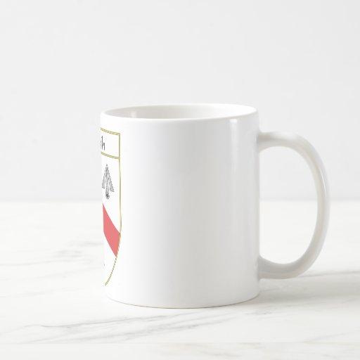 Escudo de armas de Walsh/escudo de la familia Taza De Café