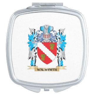 Escudo de armas de Walworth - escudo de la familia Espejos De Viaje