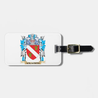 Escudo de armas de Walworth - escudo de la familia Etiqueta De Maleta