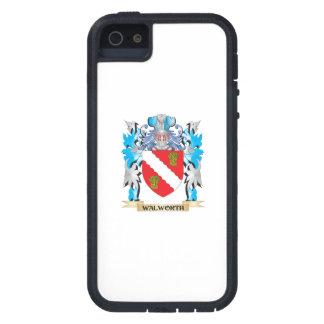 Escudo de armas de Walworth - escudo de la familia iPhone 5 Carcasa