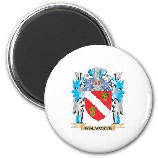 Escudo de armas de Walworth - escudo de la familia Imán De Frigorífico