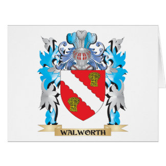 Escudo de armas de Walworth - escudo de la familia