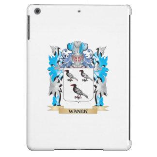 Escudo de armas de Wanek - escudo de la familia Funda Para iPad Air