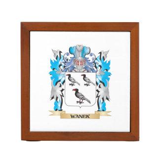 Escudo de armas de Wanek - escudo de la familia