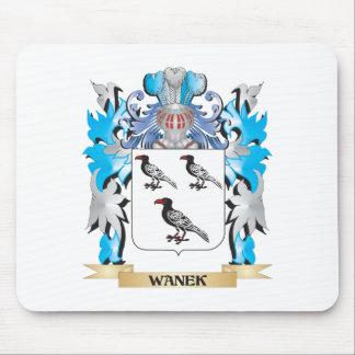 Escudo de armas de Wanek - escudo de la familia Tapetes De Ratones