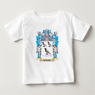 Escudo de armas de Wanke - escudo de la familia T-shirt