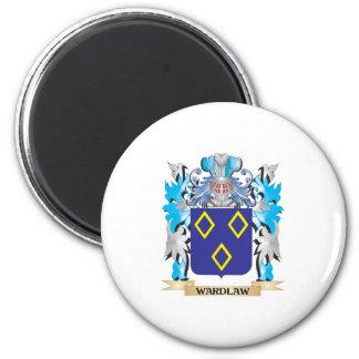 Escudo de armas de Wardlaw - escudo de la familia Imán Para Frigorifico