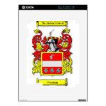 Escudo de armas de Wareham Calcomanía Para El iPad 2