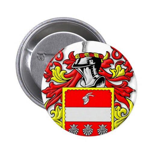 Escudo de armas de Wareham Pin Redondo 5 Cm