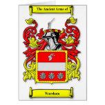 Escudo de armas de Wareham Tarjetas