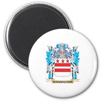 Escudo de armas de Washington - escudo de la Imán De Frigorifico
