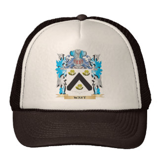 Escudo de armas de Wayt - escudo de la familia Gorras
