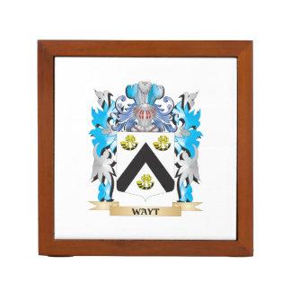 Escudo de armas de Wayt - escudo de la familia