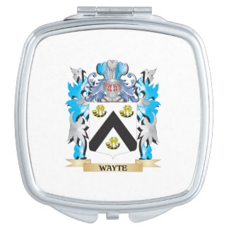 Escudo de armas de Wayte - escudo de la familia Espejos De Viaje